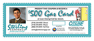 Sterling Gas Coupon